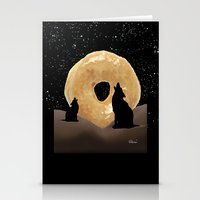 murakami Stationery Cards featuring Donut Howl by Geni