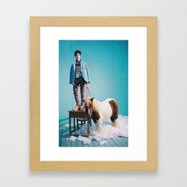 Taemin - SHINee Framed Art Print