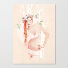 Colibrí Canvas Print