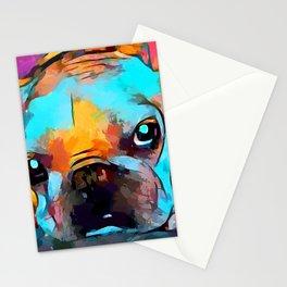French Bulldog 3 Stationery Cards