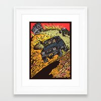 goonies Framed Art Prints featuring The Goonies by Carol Wellart