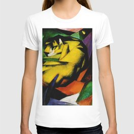 Tiger by Franz Marc T-shirt