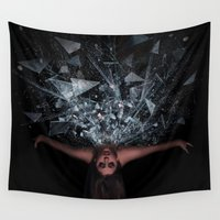 passion Wall Tapestries featuring Passion by Danielle Moalem