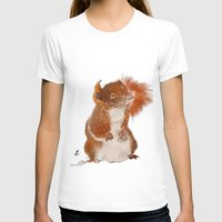 furry T-shirts featuring Furry Friend by tgronberg