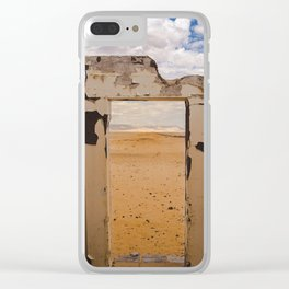 Door to Nowhere Clear iPhone Case
