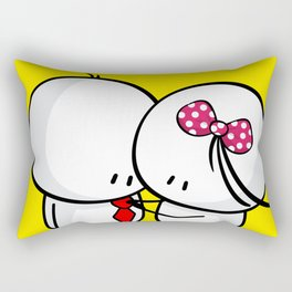 come here Rectangular Pillow