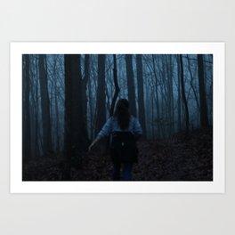 Escapade Art Print