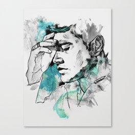Dean Winchester   Skin Canvas Print