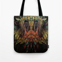 moth Tote Bags featuring moth by AmeliaPeelArt