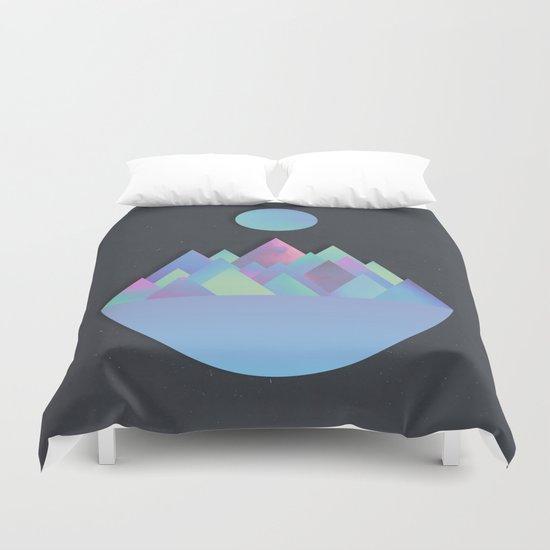 Moon Peaks Alternative Duvet Cover