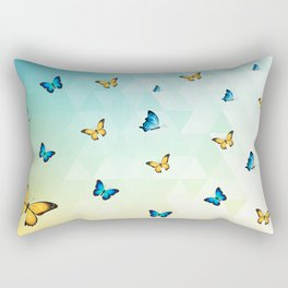 Butterflies Rectangular Pillow