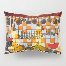 Ratatouille's Kitchen Pillow Sham
