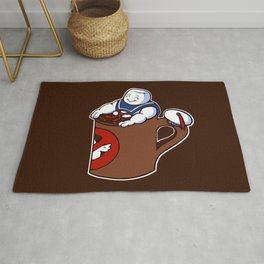 Cup of Stay Puft Rug