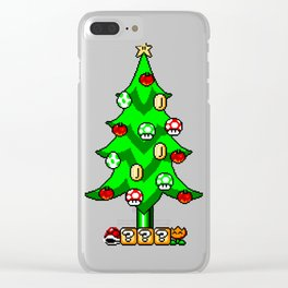 Xmas Games Clear iPhone Case
