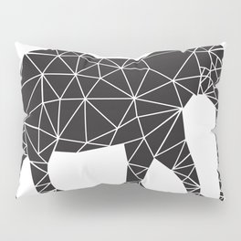 Elephant Angles (Help Save Endangered Elephants) Pillow Sham