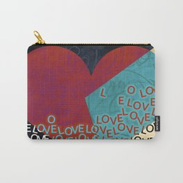 New love heart design valentines 2017 Carry-All Pouch