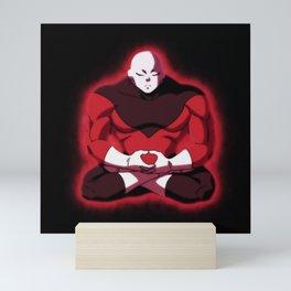 Jiren Meditation Mini Art Print
