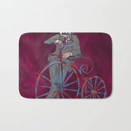 Barry Gangster Farthing - Red Bath Mat