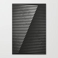 Black vs. White Canvas Print