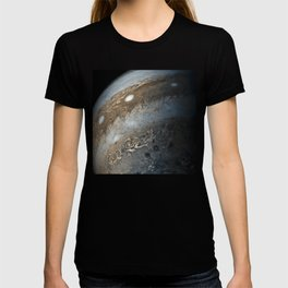 Storms on Jupiter from Juno Cam (2017) T-shirt