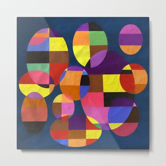 Abstract #372 Metal Print
