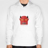 devil Hoodies featuring Devil by Adhikari Uttam
