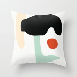 Matisse Shapes 1 Throw Pillow