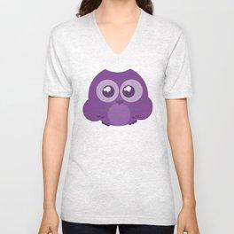 Fukurou (Owl) Unisex V-Neck