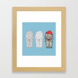 Jizo-sama Framed Art Print