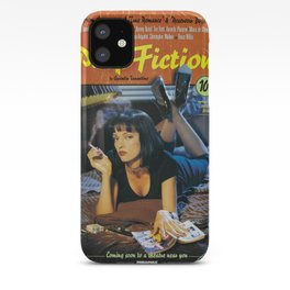 Pulp Fiction Movie Poster, Written And Directed By Quentin Tarantino Artwork, Posters, Prints, Tshir iPhone Case