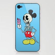 Mickey Bones iPhone & iPod Skin