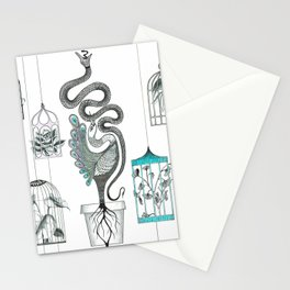 Life in a pot. Stationery Cards