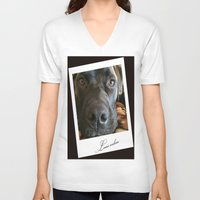 louis V-neck T-shirts featuring Louis online by Laake-Photos