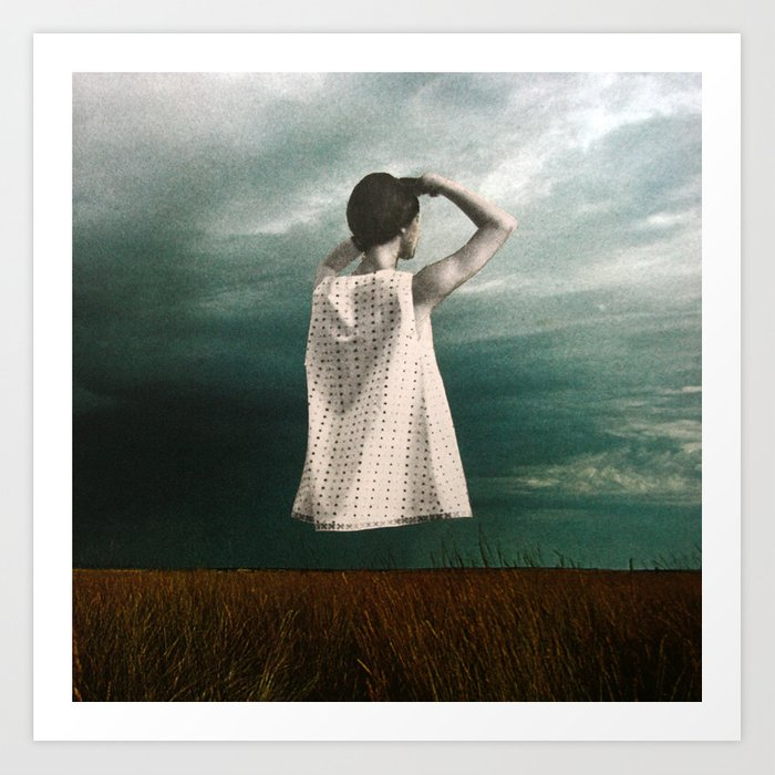 Storm Ahead Art Print