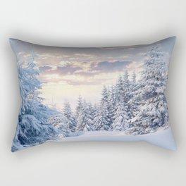 Snow Paradise Rectangular Pillow