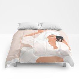 Morning Selfie Comforters