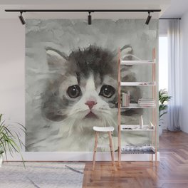 Baby Floof Wall Mural