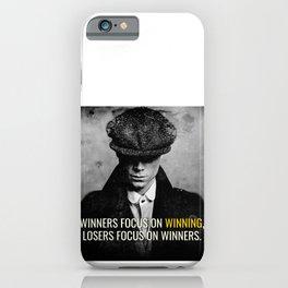 PB Focus on Winning iPhone Case