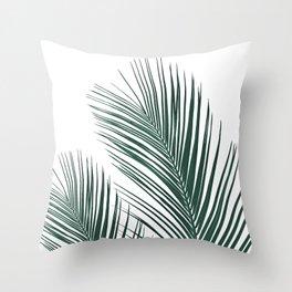 Tropical Palm Leaves #2 #botanical #decor #art #society6 Throw Pillow