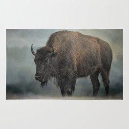 Stormy Day - Buffalo - Wildlife Rug
