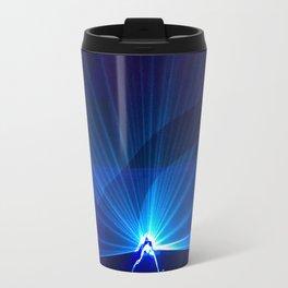 Blue laser Travel Mug