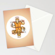 King of Moons Stationery Cards