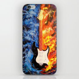 The sound of the guitar iPhone Skin