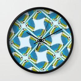 Parrots - Macaw Wall Clock