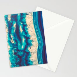 Blue Agate Water Element Stationery Cards