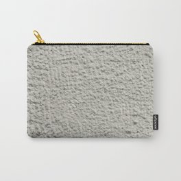 Grey wall texture rough outdoors plaster Carry-All Pouch