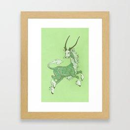 The Dancing Kirin Framed Art Print