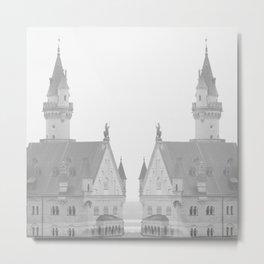 NEU CASTLE Metal Print