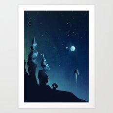Planet 2 Art Print
