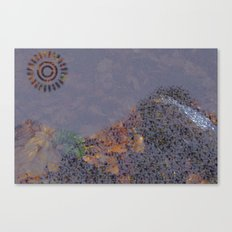 Mountain Series - Evening Canvas Print